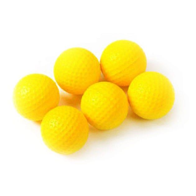 Golf Träning - PU Skum Träningsboll-6 pack