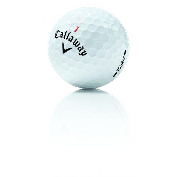 Callaway Tour I(s) Kvalitet A - Golfbollar per styck - Begagnade Golfbollar (Floridabollar)