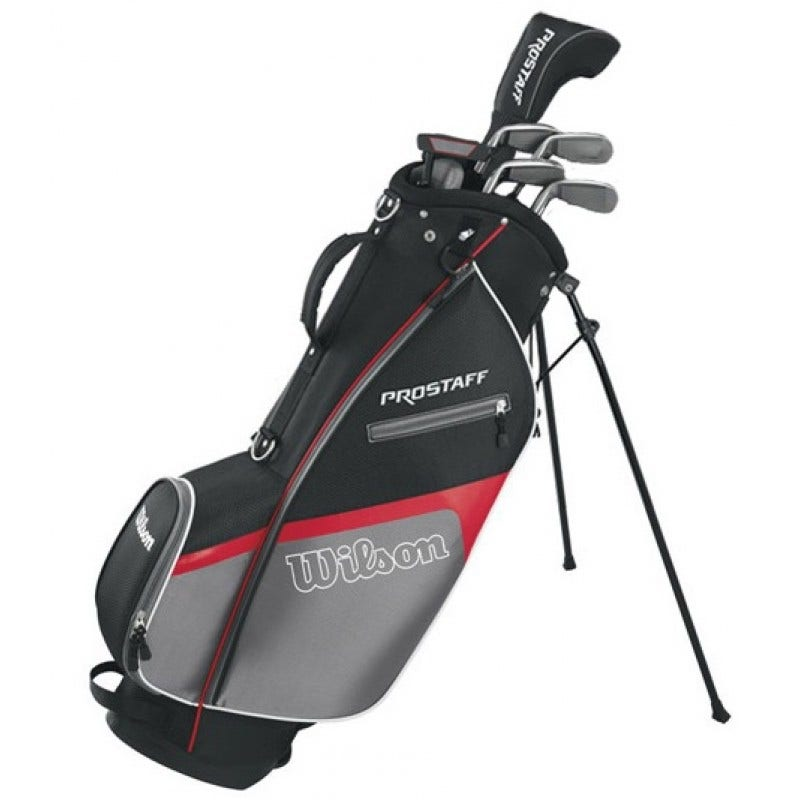 Golfset - Wilson ProStaff HDX Halvset Grafit/Stålskaft -höger