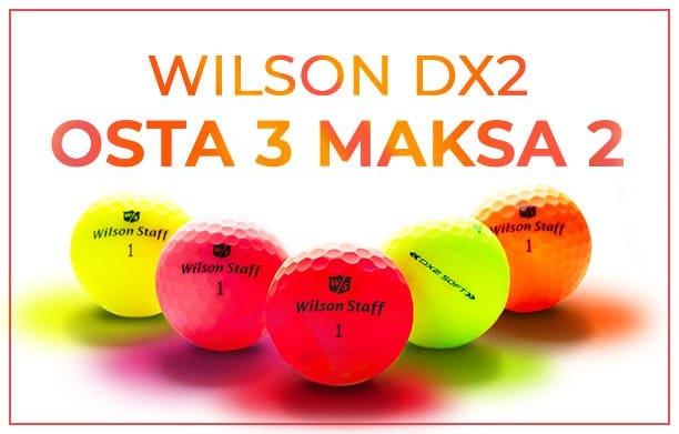 Wilson DX2 pallot - OSTA 3 MAKSA 2