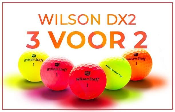 Wilson DX2 ballen - 3 voorr 2