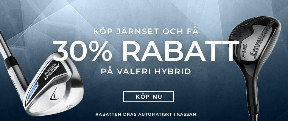 Köp ett set och få möjlighet att köpa en hybrid med 30% rabatt