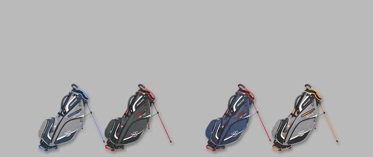 Stort utbud av golfbagar hos NordicaGolf
