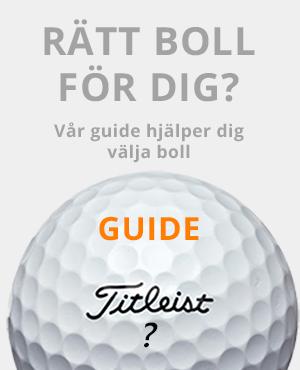Väl rätt golfboll med vår guide