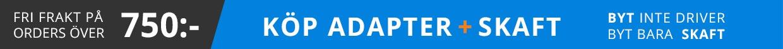 Köp Adapter med Skaft monterat och klart